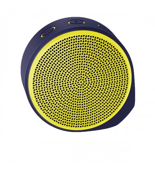 Logitech X100 Wireless Bluetooth Speaker, Yellow
